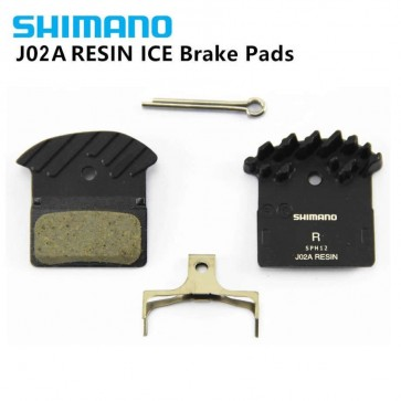 SHIMANO J02A Brake Pads Cooling Fin Ice Tech Brake Pad For MTB