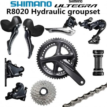 Shimano Ultegra R8020 Hydraulic Disc Brake Groupset R8070 2x11 Speed