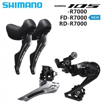 Shimano 105 R7000 Road Bike Groupset 2x11S Shifter Front Rear Derailleur SS/GS