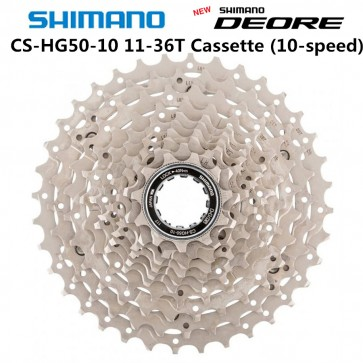 SHIMANO DEORE CS-HG50-10 M6000 Mountain Bike Cassette Sprocket 10 Speed
