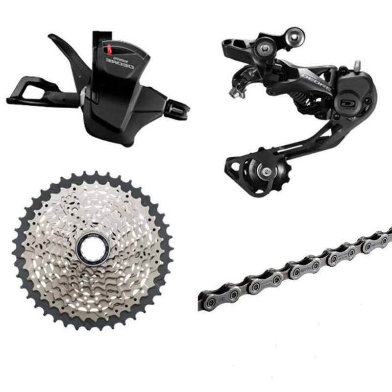 SHIMANO DEORE M6000 HG500-10 Cassette   bicycle freewheel Deore 11-42T