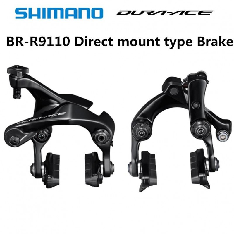 Black Shimano Dura-Ace BR-R9110RS Rear Seat Stay Direct Mount Brake Caliper