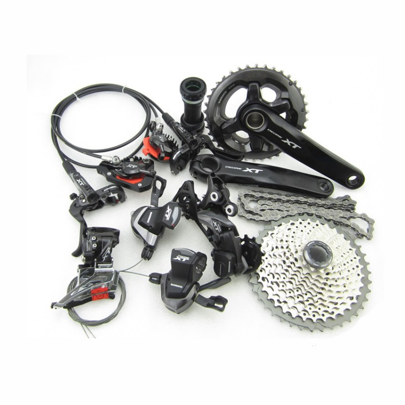 2//3 Speed I-Spec II Mount Left Only Shimano XT ST-M8000 MTB Bicycle Shifter