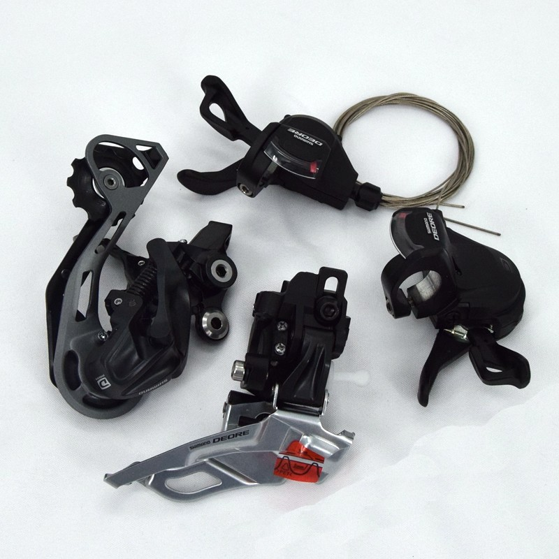 SHIMANO Deore M610 MTB 10 Speed Groupset Shifters Front Rear