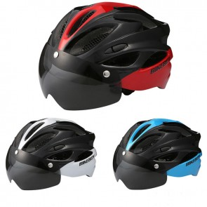 BIKEBOY Road Bike Helmet Windproof Glasses