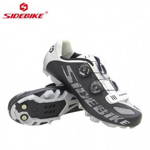 Sidebike SD-002M MTB Bike Cycling Shoes SPD Self-locking Black