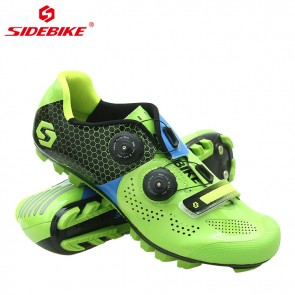 Sidebike SD-011M MTB Bike Cycling Shoes Carbon Sole Green