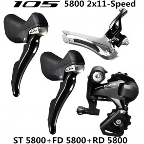 Shimano 105 5800 Road Bike Groupset 2x11 Speed ST-5800 FD-5800 RD-5800-SS/GS