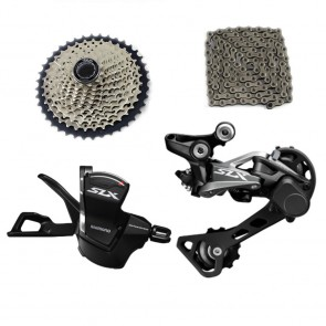 SHIMANO SLX M7000 Groupset Right Shifter Rear Derailleur Chains Cassette
