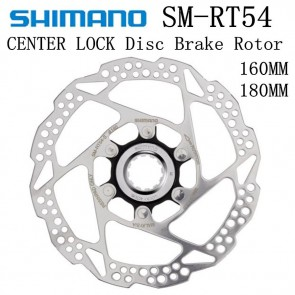 SHIMANO DEORE SM RT54 Disc Brake Rotor Central Lock 160MM 180MM