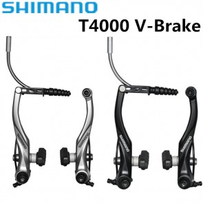 Shimano Alivio BR-T4000 V-Brake Mountain Bike Brake Black Silver