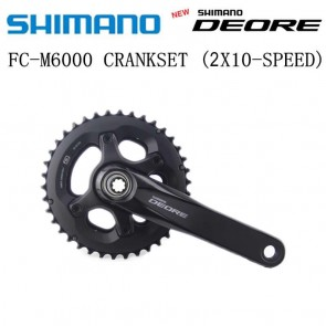 SHIMANO DEORE FC-M6000-2 HOLLOWTECH II Crankset 2x10 Speed