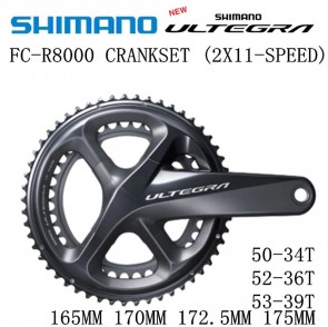 SHIMANO ULTEGRA FC-R8000 Crankset HOLLOWTECH II 2x11 Speed