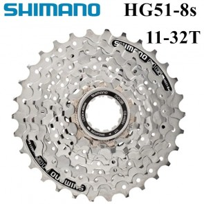 SHIMANO CS-HG51-8 Cassette Sprocket MTB 8 Speed 11-32T