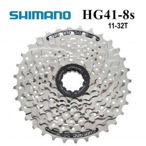 SHIMANO CS-HG41-8 Cassette Sprocket MTB 8 Speed 11-32T