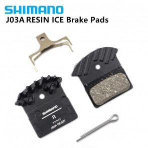 SHIMANO J03A Brake Pads Cooling Fin Ice Tech Brake Pad For MTB