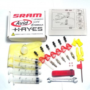 Sram Bike Bicycle Hydraulic Disc Brake Bleed Tool Kit AVID Formula HAYES ELIXIR Standard Set