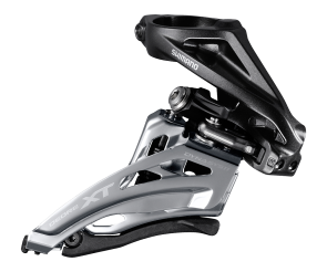 Shimano XT FD-M8020-H Front Derailleur 2x11S High Clamp Side-Swing Front-Pull
