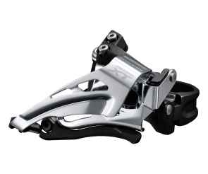 Deore XT FD-M8025-L Front Derailleur 2x11 Speed Low Clamp Top Swing Bottom Pull