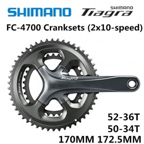 SHIMANO Tiagra FC-4700 Crankset HOLLOWTECH II 2x10 Speed