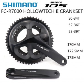 SHIMANO 105 FC-R7000 Crankset HOLLOWTECH II 2x11 Speed