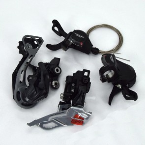 SHIMANO Deore M610 MTB 10 Speed Groupset Shifters Front Rear Derailleur