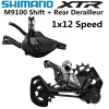 SHIMANO DEORE XTR M9100 Groupset 1x12 Speed Rear Derailleur Shifter